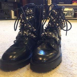 Zara spike boots